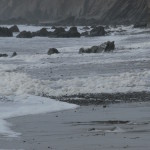 Marloes storm spume