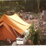 Camping at Sandy Haven in 1984