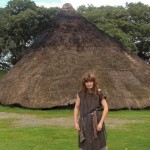 Iron Age maiden at Castell Henllys