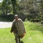 Iron age warrior at Castell Henllys