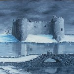 North Carew Castle by Robert F. Rickard