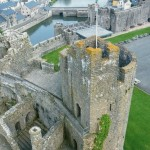 Pembroke Castle - looking down